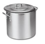 Panela Caldeirao Aluminio Vigor 45 Litros 40x36cm