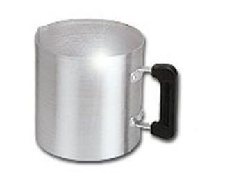 Canecão Leiteira De Aluminio 6,3 L Alumínio Vigor 20x20cm