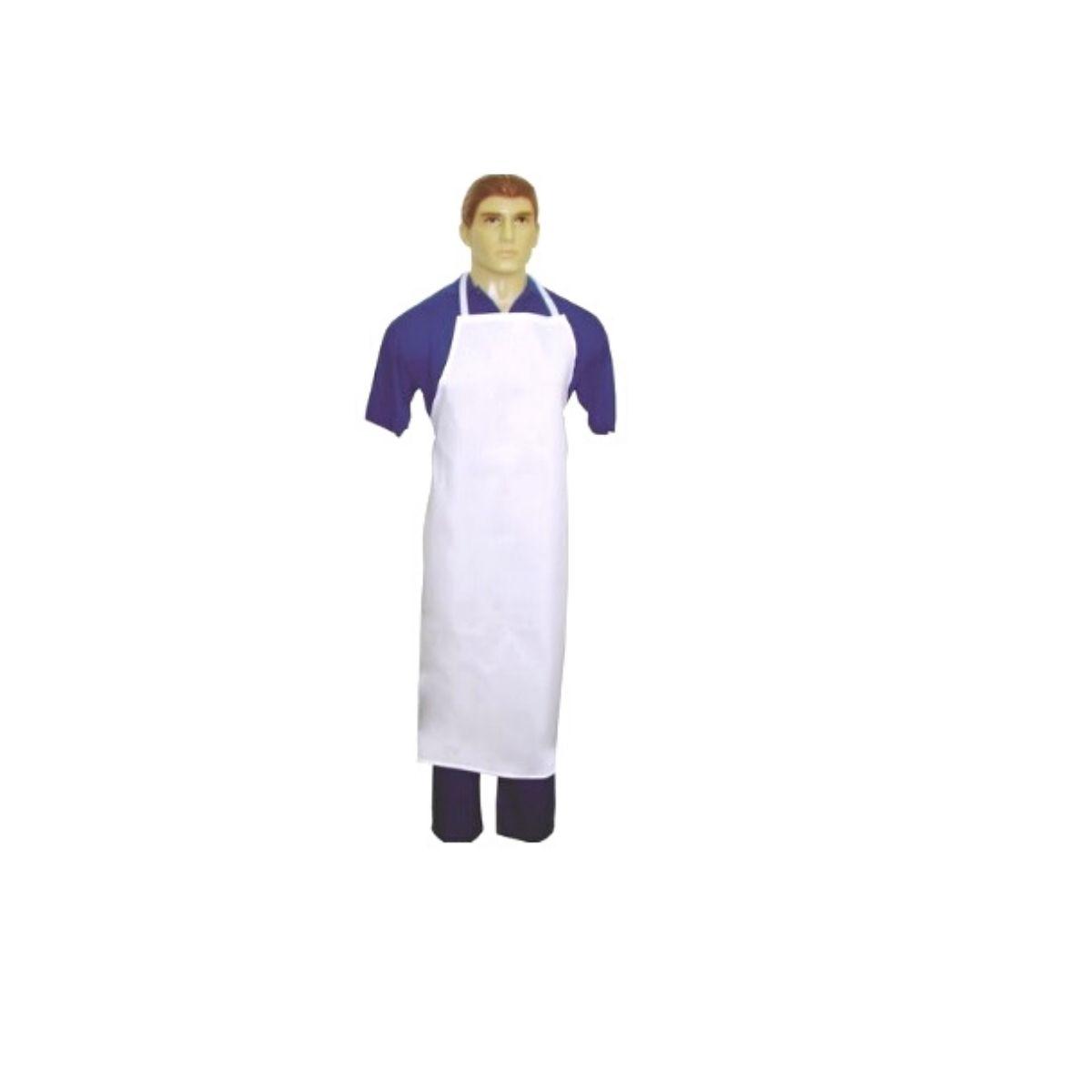 Avental De Cozinha Profissional Emborrachado 110x63cm kit c/ 10