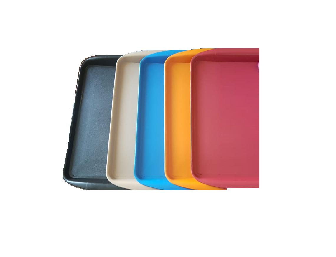Bandejas 43x30x3,4 Color kit c/ 50 peças