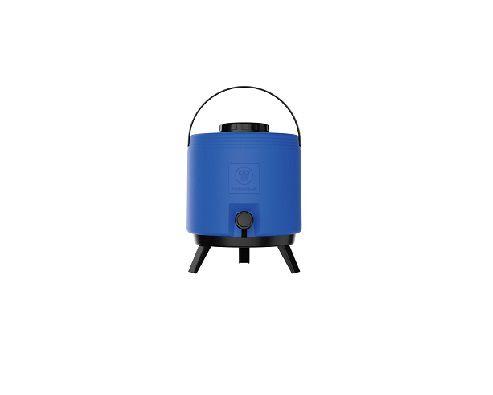 Botijão térmico 6 litros  Azul