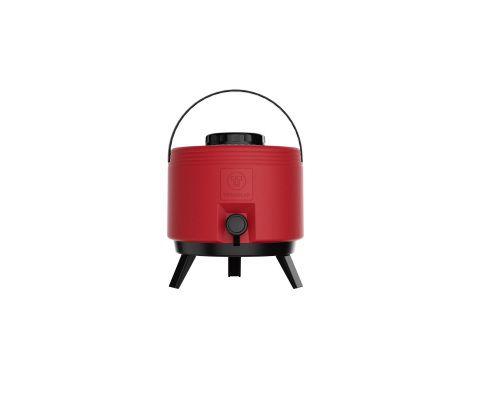 Botijão térmico 6 litros Vermelho