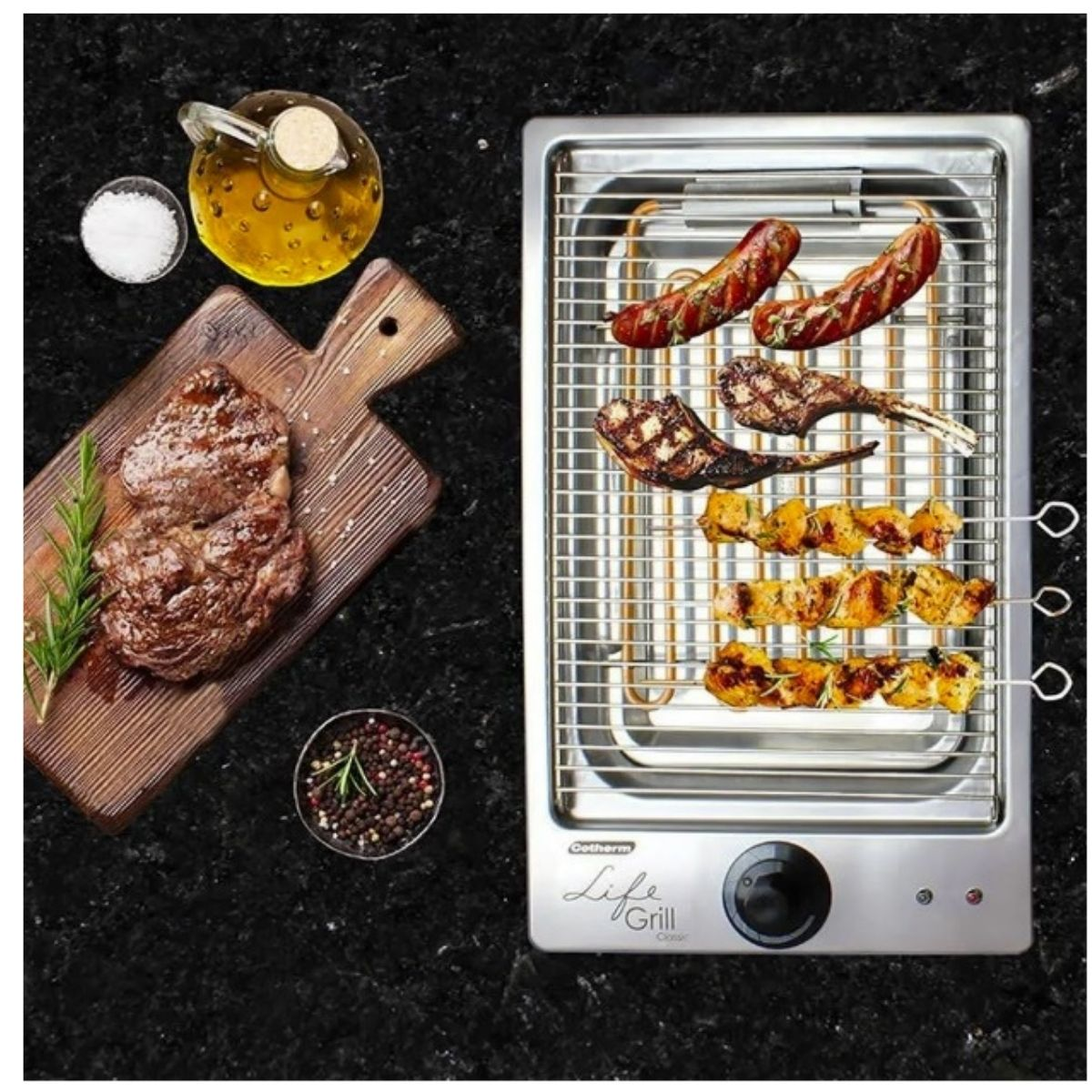 Churrasqueira Elétrica Cotherm Life Grill Classic