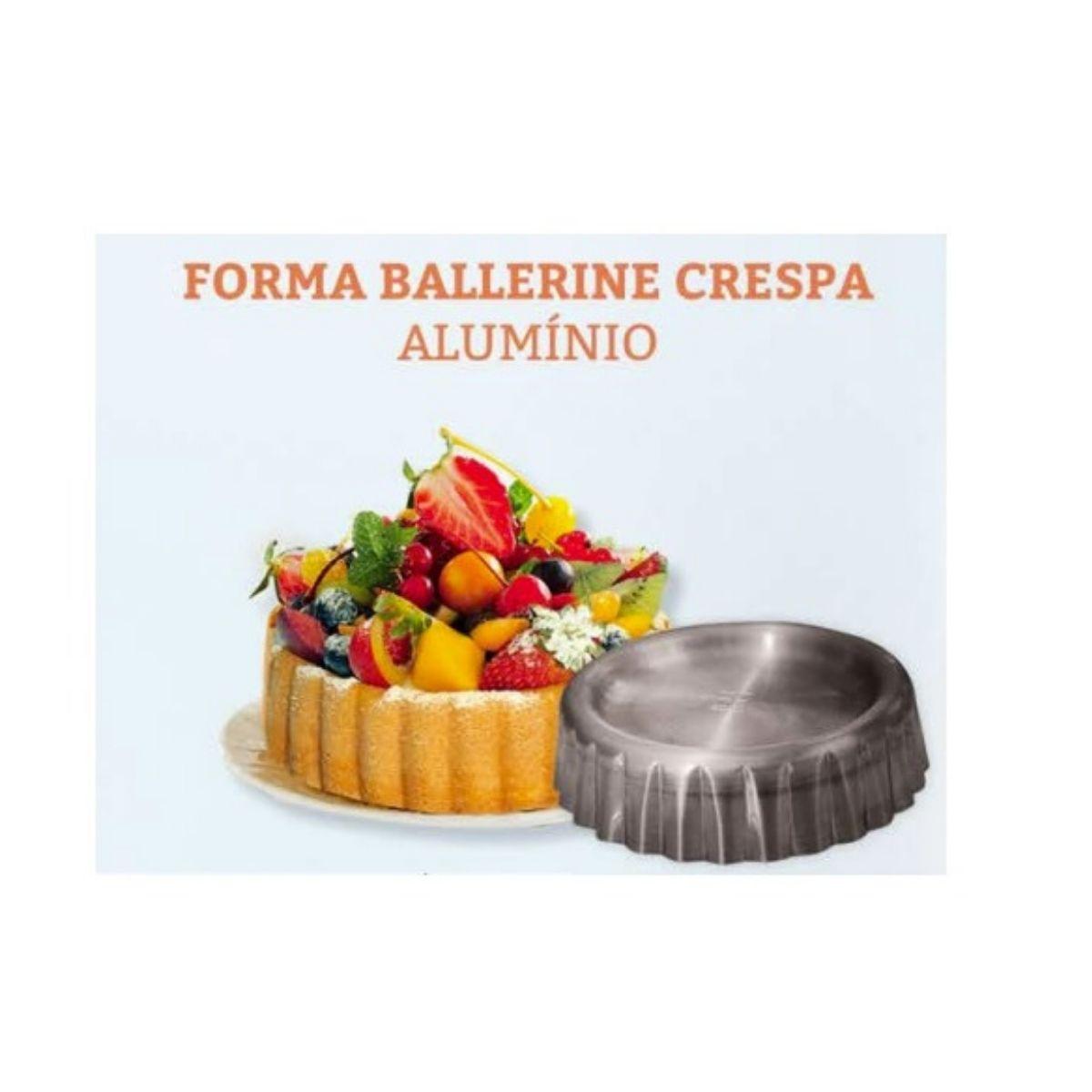 Forma Ballerine Crespa 18x4