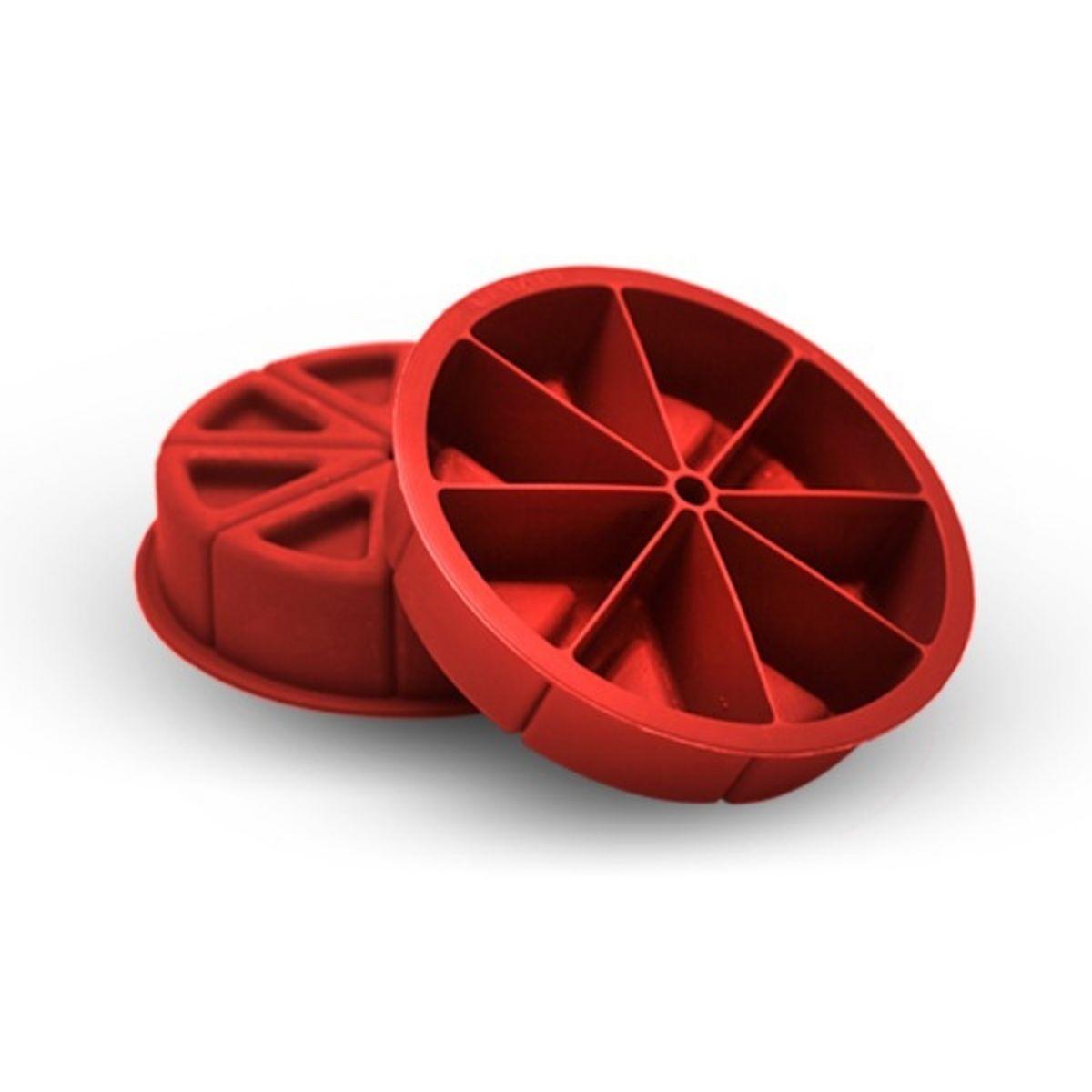 Forma De Bolo Fatia Em Silicone Variata Med 18,5x5 Cm