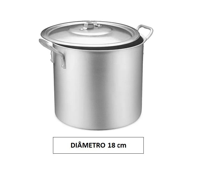 Panela CALDEIRÃO 18 Aluminio Vigor 4,6 Litros