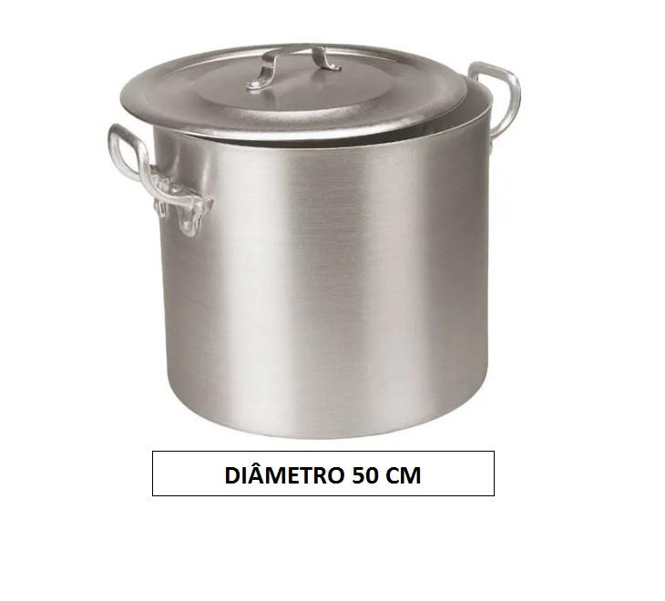 Panela CALDEIRÃO 50 Aluminio Vigor 95 Litros