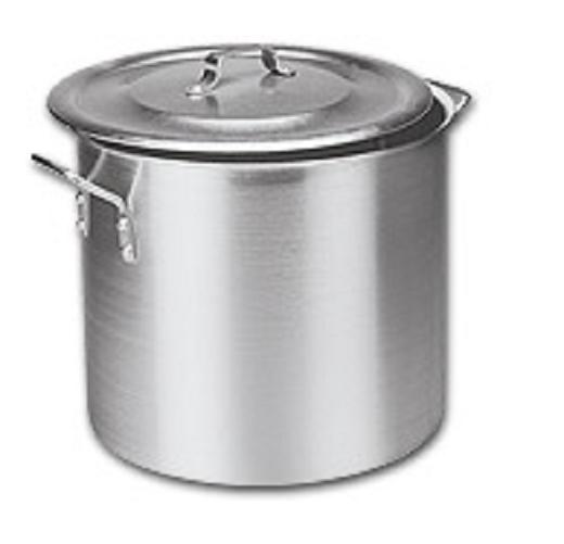 Panela Caldeirao Aluminio Vigor 38 Litros 38x34cm