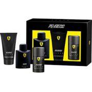 Kit Ferrari Scuderia Black - Eau de Toilette - 125ml + Gel de Banho 150ml + Desodorante 150ml