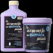 Kit Lola Cosmetics Eu Sei O Que Você Fez Na Química Passada 2 Produtos (Shampoo+Máscara)