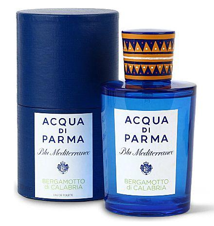 Blu Mediterraneo Bergamoto di Calabria Acqua di Parma Eau de Toilette Perfume Unissex