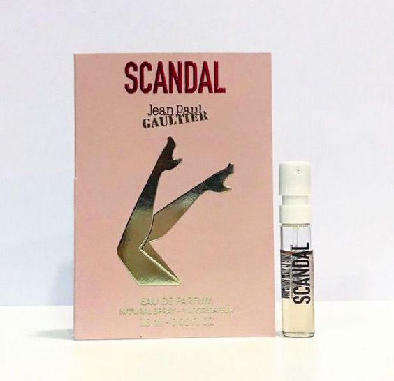 Amostra Jean Paul Scandal Eau de Parfum Feminino 1.5ML