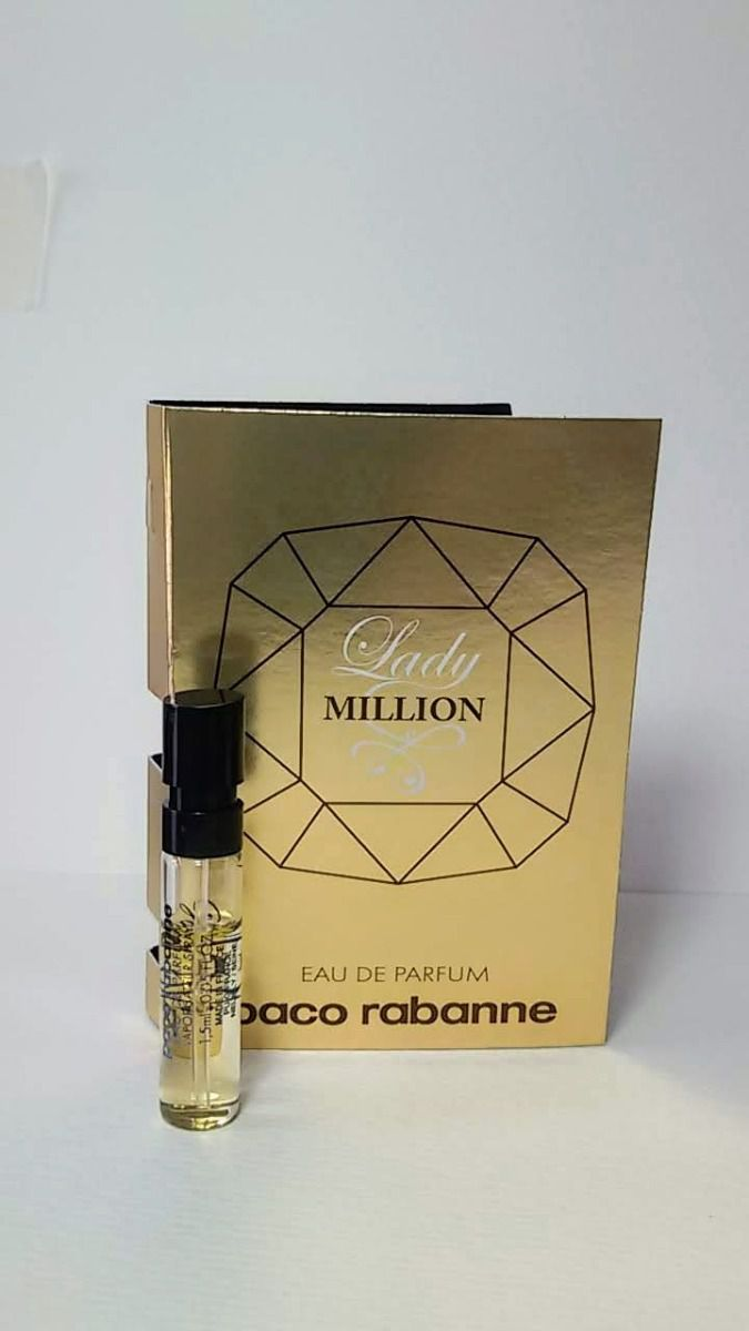Amostra Paco Rabanne Lady Million Eau de Parfum Feminino 1.5ML