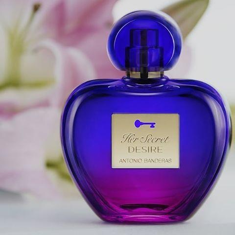 Her Secret Desire Antonio Banderas Eau de Toilette Perfume Feminino