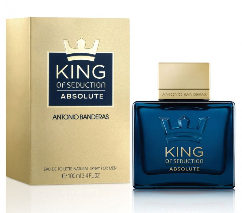 King Of Seduction Absolute Antonio Banderas Eau de Toilette Perfume Feminino
