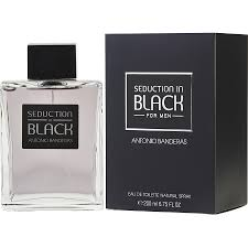Seduction in Black Antonio Banderas Eau de Toilette Perfume Masculino