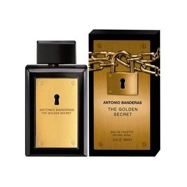 The Golden Secret Antonio Banderas Eau de Toilette Perfume Masculino