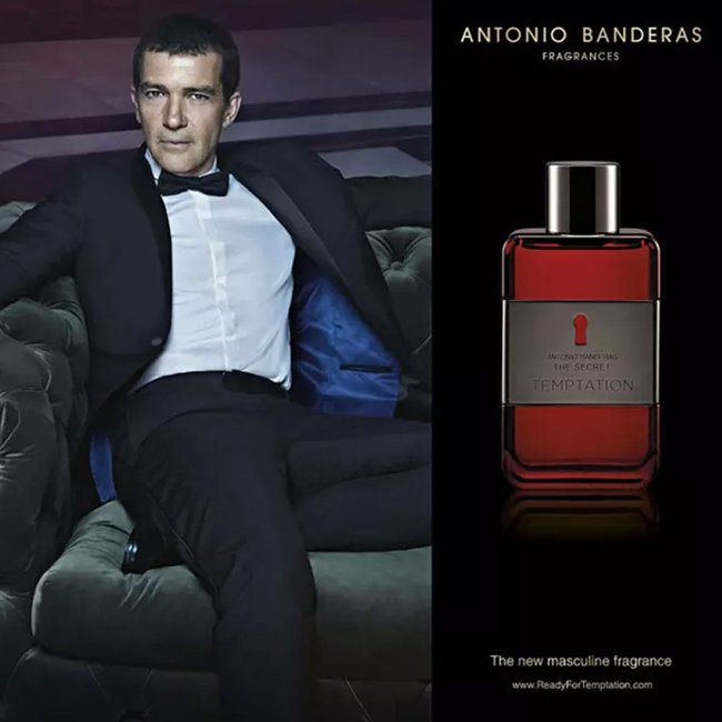 The Secret Temptation Antonio Banderas Eau de Toilette Perfume Masculino