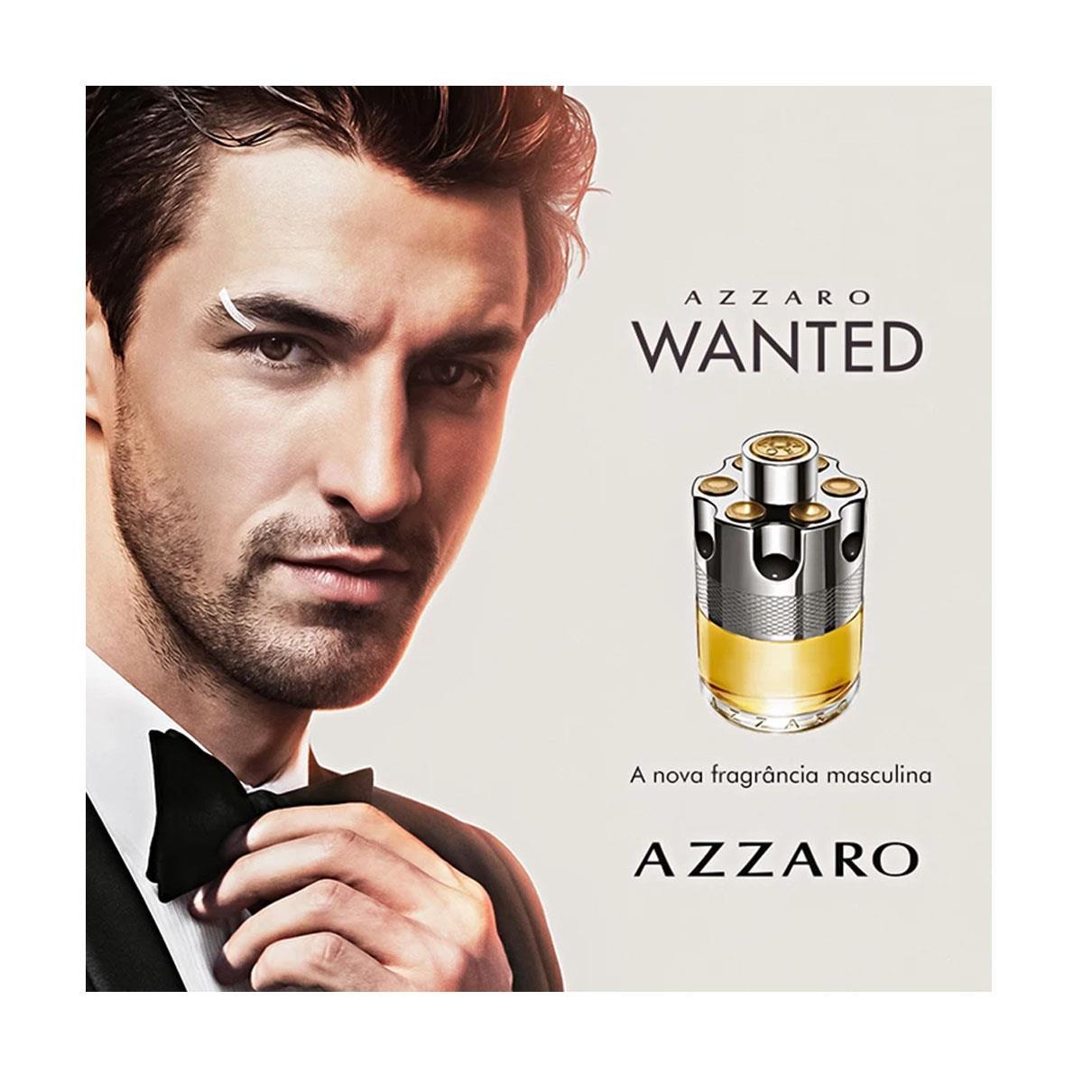 Wanted Azzaro Eau de Toilette Perfume Masculino