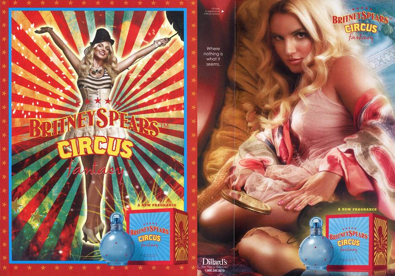 Fantasy Circus Britney Spears Eau de Parfum Perfume Feminino