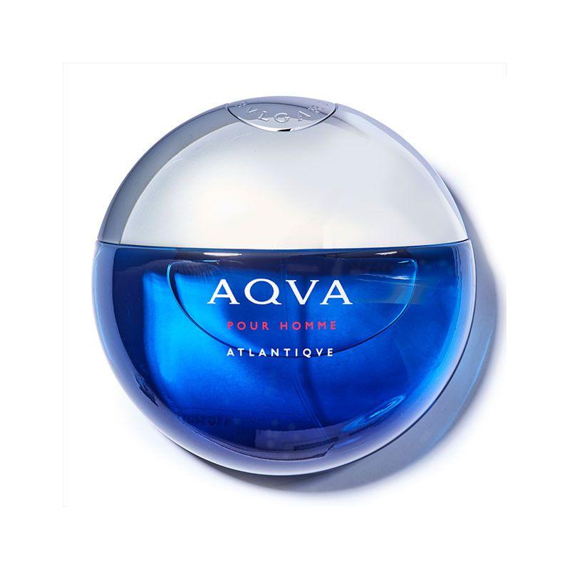 Aqva Pour Homme Atlantiqve Bvlgari Eau de Toilette Perfume Masculino