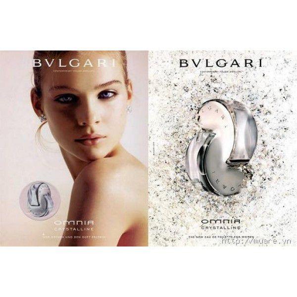 Omnia Crystalline Bvlgari Eau de Toilette Perfume Feminino