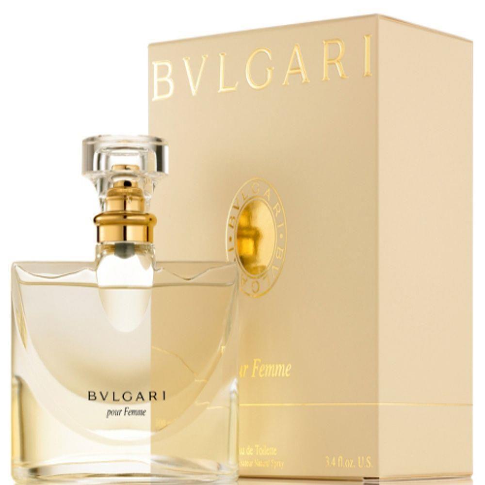 Pour Femme Bvlgari Eau de Parfum Perfume Feminino