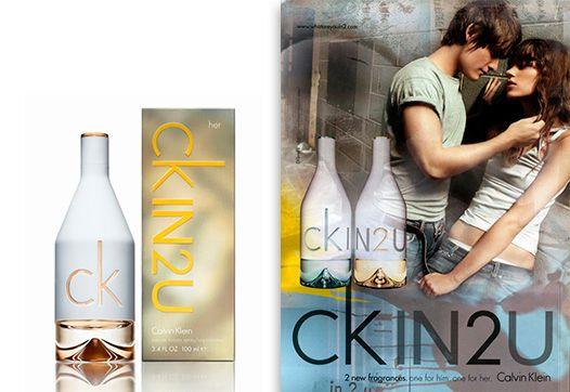 CK IN2U Calvin Klein Eau de Toilette Perfume Feminino
