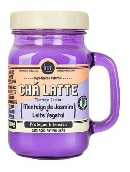 Caneca Chá Latte Manteiga de Jasmim Lola Cosmetics 300g