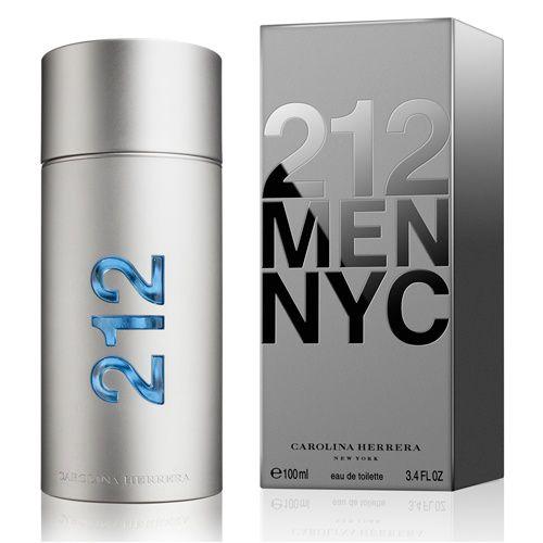 212 Men Carolina Herrera Eau de Toilette Perfume Masculino