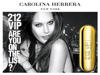212 VIP Carolina Herrera Eau de Parfum Perfume Feminino