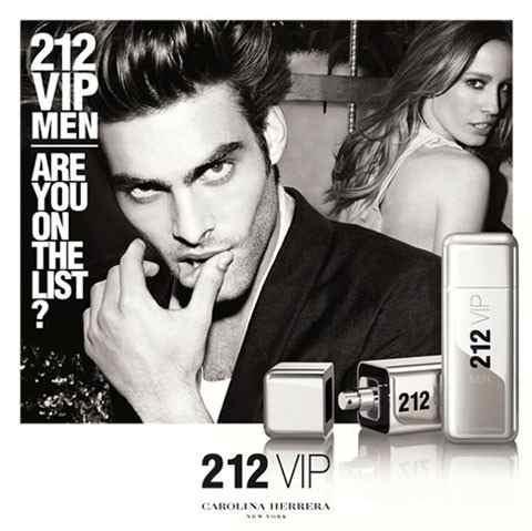 212 VIP Men Carolina Herrera Eau de Toilette Perfume Masculino