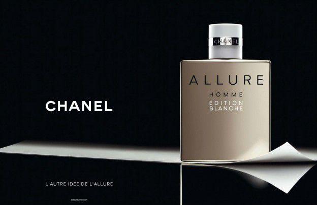 Allure Homme Édition Blanche Chanel Eau de Parfum Perfume Masculino
