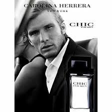 Chic Carolina Herrera Eau de Toilette Perfume Masculino