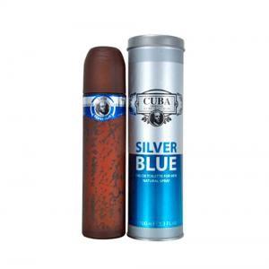 Cuba Silver Blue Eau de Toilette Masculino
