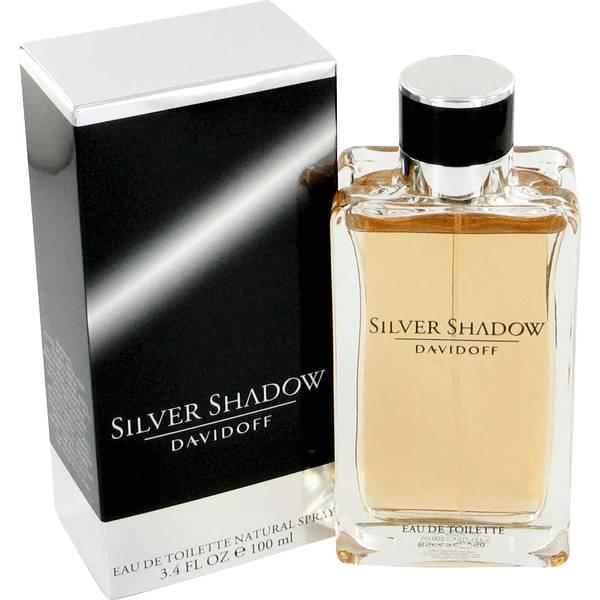 Silver Shadow For Men Davidoff Eau de Toilette Perfume Masculino