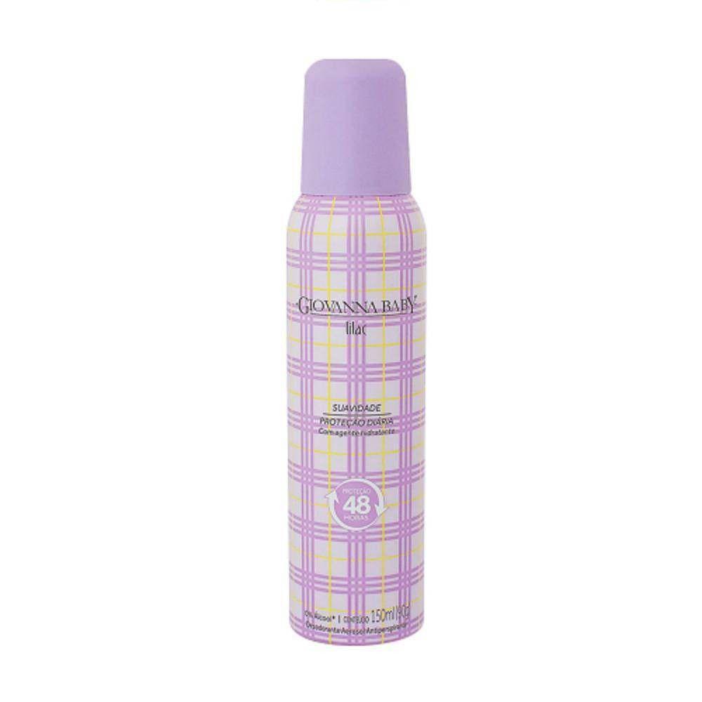 Desodorante Aerosol Giovanna Baby Lilac 150ml