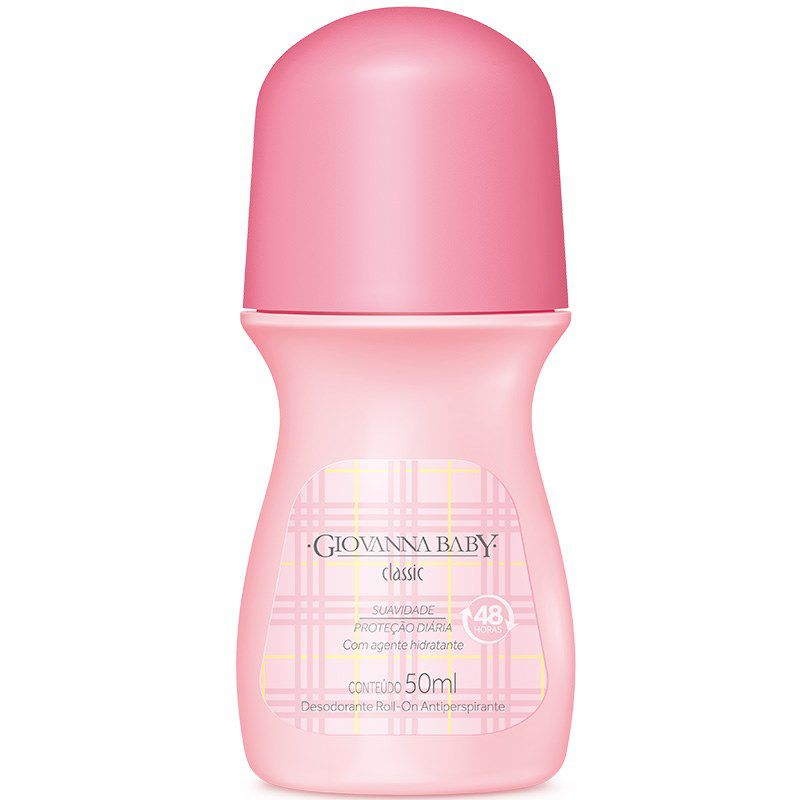 Desodorante Roll-on Giovanna Baby Classic 50ml