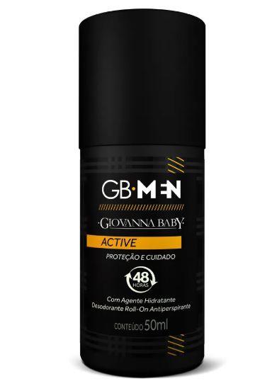 Desodorante Roll-on Giovanna Baby Men Active 50ml