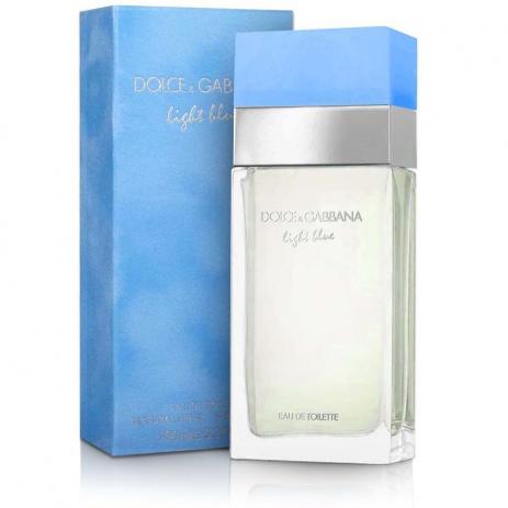 Light Blue Dolce & Gabbana Eau de Toilette Perfume Feminino
