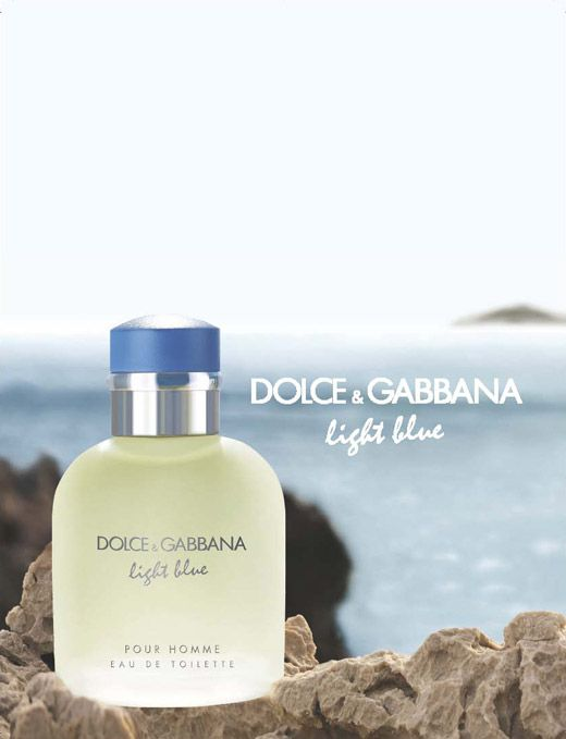 Light Blue Dolce & Gabbana Eau de Toilette Perfume Masculino