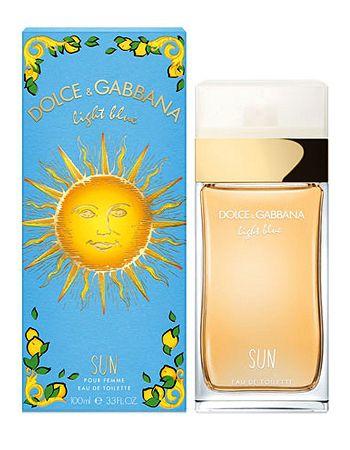 Light Blue Sun Dolce & Gabbana Eau de Toilette Perfume Feminino