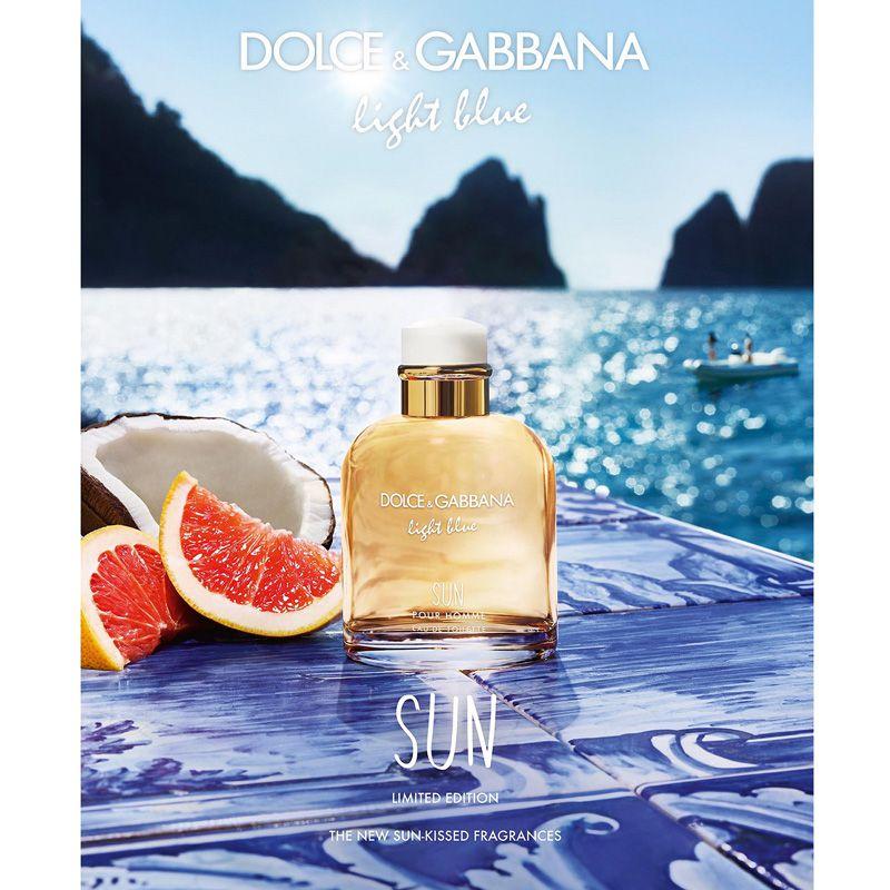 Light Blue Sun Dolce & Gabbana Eau de Toilette Perfume Masculino
