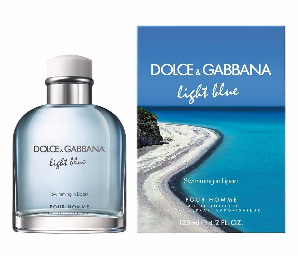 Light Blue S In Lipari Dolce & Gabbana Eau de Toilette Perfume Masculino