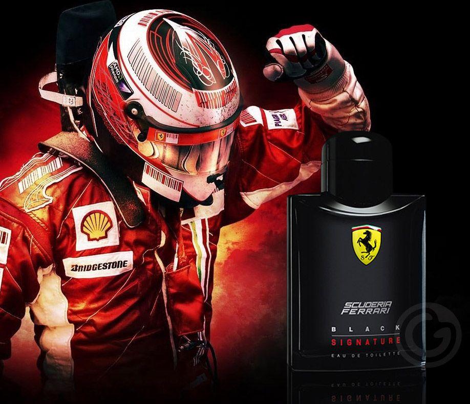 Black Signature Ferrari Eau de Toilette Perfume Masculino