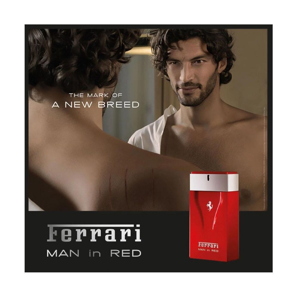 Man in Red Ferrari Eau de Toilette Perfume Masculino