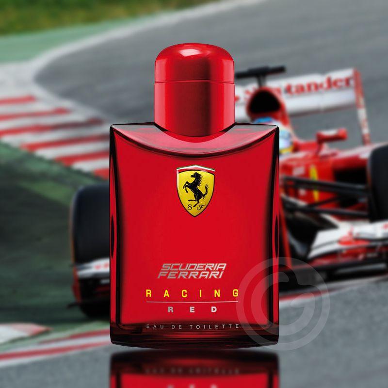 Scuderia Red Racing Ferrari Eau de Toilette Perfume Masculino