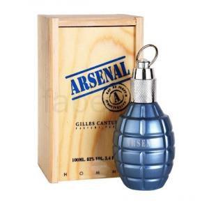 Arsenal Blue Gilles Cantuel Eau de Toilette Perfume Masculino