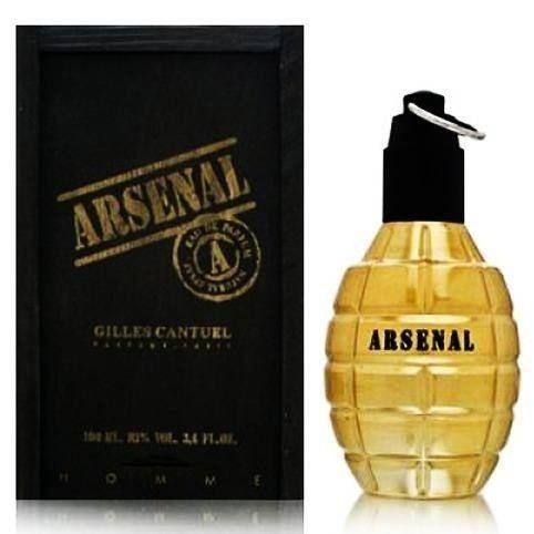 Arsenal Gold Gilles Cantuel Eau de Toilette Perfume Masculino