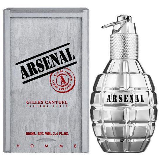 Arsenal Platinum Gilles Cantuel Eau de Toilette Perfume Masculino